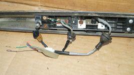 07-10 Infiniti G35 G37 4dr Sedan Trunk Lid  Finisher Trim Chrome W/ Camera image 8