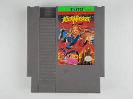 Kick Master Nintendo NES KickMaster video game cartridge Taito 1992 KID Rare - $32.66