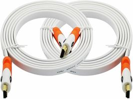 ZFlat HDMI Cable 10 ft - 2 Pack image 3