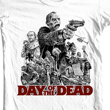 Day of the Dead T-shirt Free Shipping retro horror movie 100% cotton graphic tee image 2