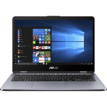 "Asus VivoBook Flip 14"" Touchscreen Laptop i5-8250U 8GB DDR4 1TB Hybrid HDD - $719.00"