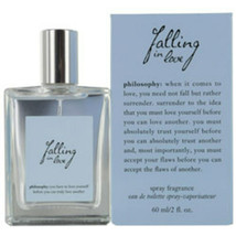 Philosophy Falling In Love Edt Spray 2 Oz For Women - $57.77
