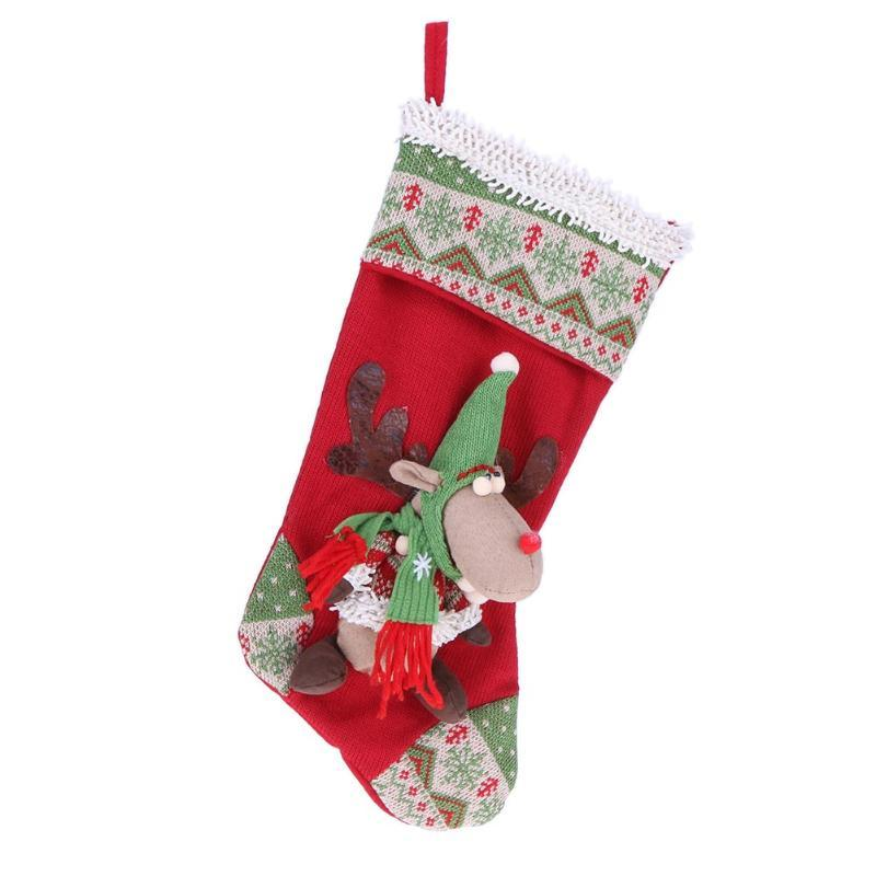 Primary image for (as show)Christmas Stocking New Year Party Decorations Christmas Gift Candy Bag