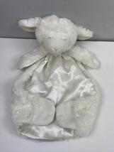 Baby Gund Winky Cozy Lamb Huggybuddy Stuffed Animal Plush Blanket Ivory - $14.85