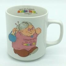 Enesco HUMAN BEANS 1983 VTG Grandmothers Are Special Hugs Coffee Mug 8 oz NEW - $11.53