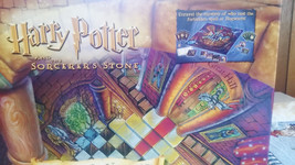 Harry Potter And The Sorcerer's Stone Trivia Board Game used by Mattel 4... - $18.49