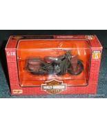 Maisto Harley Davidson 1942 WLA Flat Head Motorcycle 1:18 Scale 1998 XMA... - $17.45