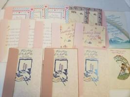 Lot Of 15 Vintage Gibson Greeting Cards . Wedding, Anniversary, Birthday  - $10.88