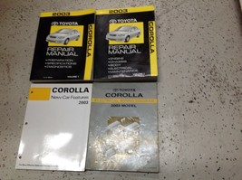 2003 TOYOTA COROLLA Service Repair Workshop Shop Manual OEM W EWD & Feat... - $118.75