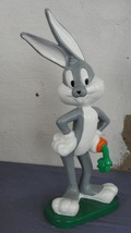 Extremely Rare! Looney Tunes Bugs Bunny Standing with Carrot Big Figurin... - $346.50