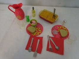 American Girl Doll Delicious Dinner Lasagna Set - $30.71