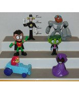 2017 McDonald's Teen Titans GO! Toy Set of 6 - $14.03