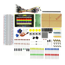 Arduino starter kit - Breadboard, Servo, Matrix LED, 7 Segment Display, ... - $19.75