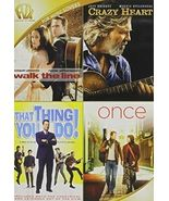 Walk the Line / Crazy Heart  / That Thing You Do / Once (DVD 4-Disc Set) - $15.98