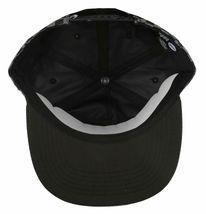 Neff Mens Black/Grey Bogie Checker Adjustable Snapback Hat Cap One Size NEW image 6
