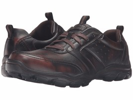 Men's Skechers Montz - Brex Comfort Shoes, 64899 /DKBR Sizes 8-14 Dark B... - $69.95