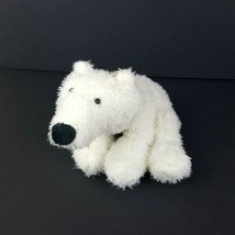 Ganz Webkinz White Plush Polar Bear HM116 No Code Stuffed Animal #A43 - $4.94