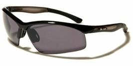Men Mirrored Lens Frame Wrap Around Sport Cycling Baseball Sunglasses FullBlack - $9.99