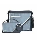 JJ Cole - J00401 - Metra Diaper Bag - Black Stitch - $39.55