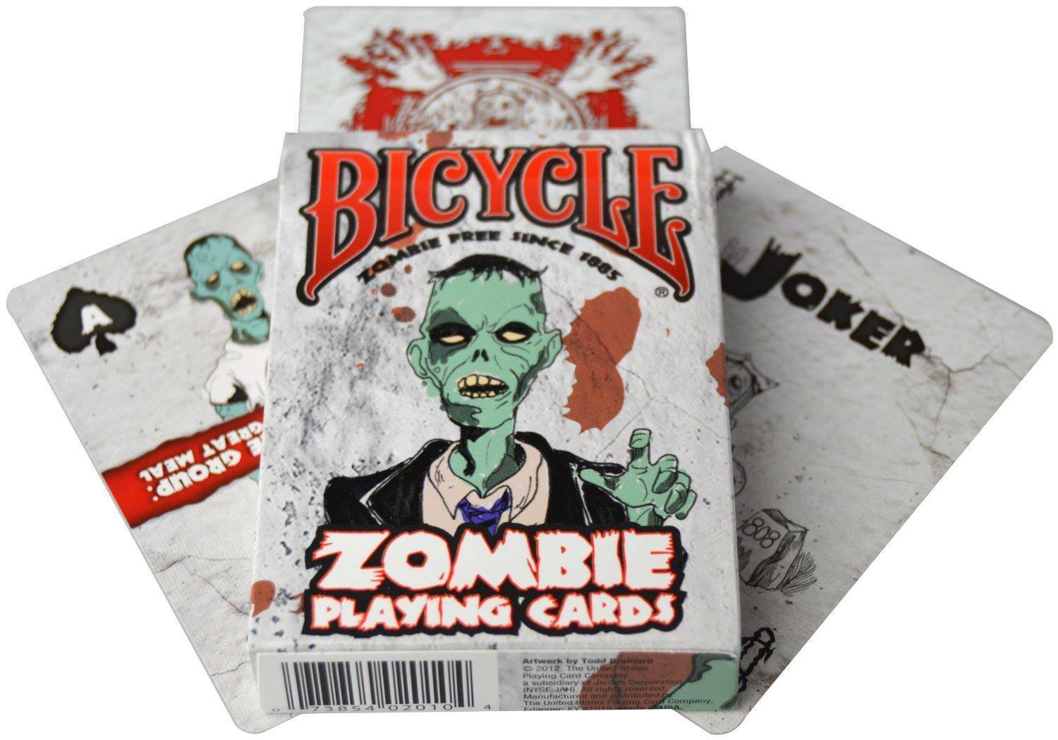Primary image for Bicycle Zombie Playing Cards Tips for Surviving NEW SEALED BOX Halloween Monster