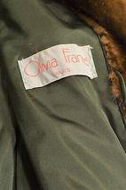 France Olivia mink fur coat FR 44 full length mahogany chic sophisticate brown image 7