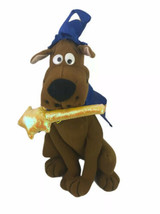 "Scooby Doo Magic Wand Time 11"" Plush Toy Network Wizard Wand Stars Witch... - $16.70"