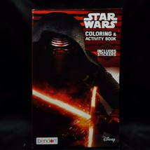 Disney Star Wars Coloring And Activity Book with Stickers Force Awakens - $5.99