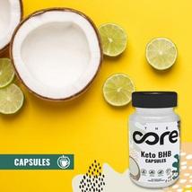 The Core Keto BHB Weight Loss & Natural Energy!   Keto BHB Exogenous 60 Caps - $96.99