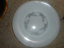 Vintage Fire-King Anchor Hocking Silver Wheat Round DINNER PLATE  9 7/8 ... - $10.85