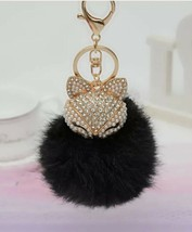 Purse Charm Keychain New With Tags Black - $10.39