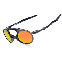Oakley men s madman polarized iridium round sunglasses thumb200