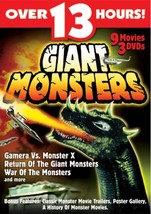Giant Monsters 9 movie collection DVD