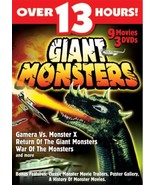 Giant Monsters 9 movie collection DVD - $7.95