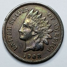 1908S Indian Head Cent Penny Coin Lot 519-113