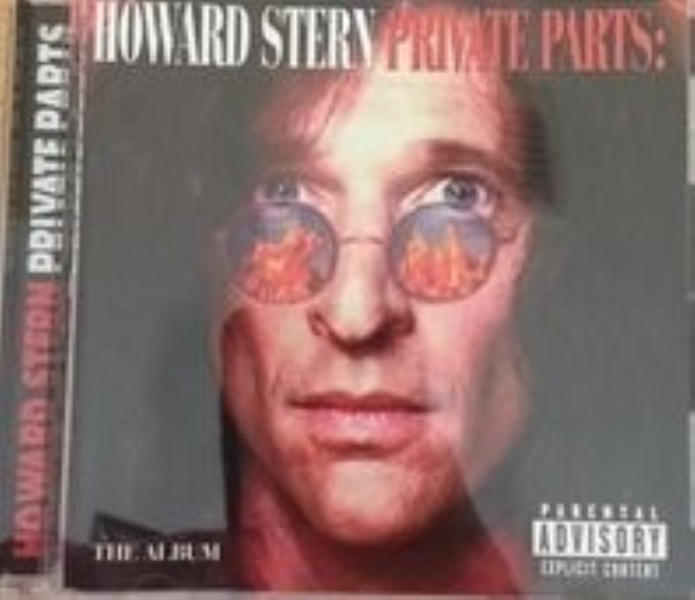 Soundtrack: Howard Stern - Private Parts: The Album Alternate Cover Cd