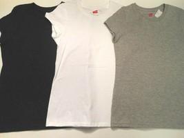 Girls T-shirts Shirts Blouses Girls clothes Black Gray White 3 pc Set Lg... - $6.88