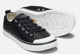 Keen Elsa II Quilted Size US 7 M (B) EU 37.5 Women's Sneakers Shoes Black / Gray - $46.99