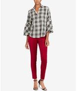 Lauren Ralph Lauren Petite Plaid Cotton Shirt, Size PM, MSRP $89 - $49.49