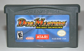 Nintendo GAME BOY ADVANCE - DUEL MASTERS KAIJUDO SHOWDOWN (Game Only) - $10.00