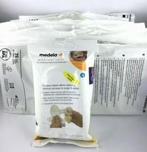 200 Medela Breast Pump Milk Storage Bags / 24 Quick Clean Wipes / Nursin... - $32.29