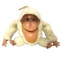"Commonwealth Toy Novelty Ape Plush 9"" Rubber Face Tummy Yellow Stuffed Gorilla - $23.27"