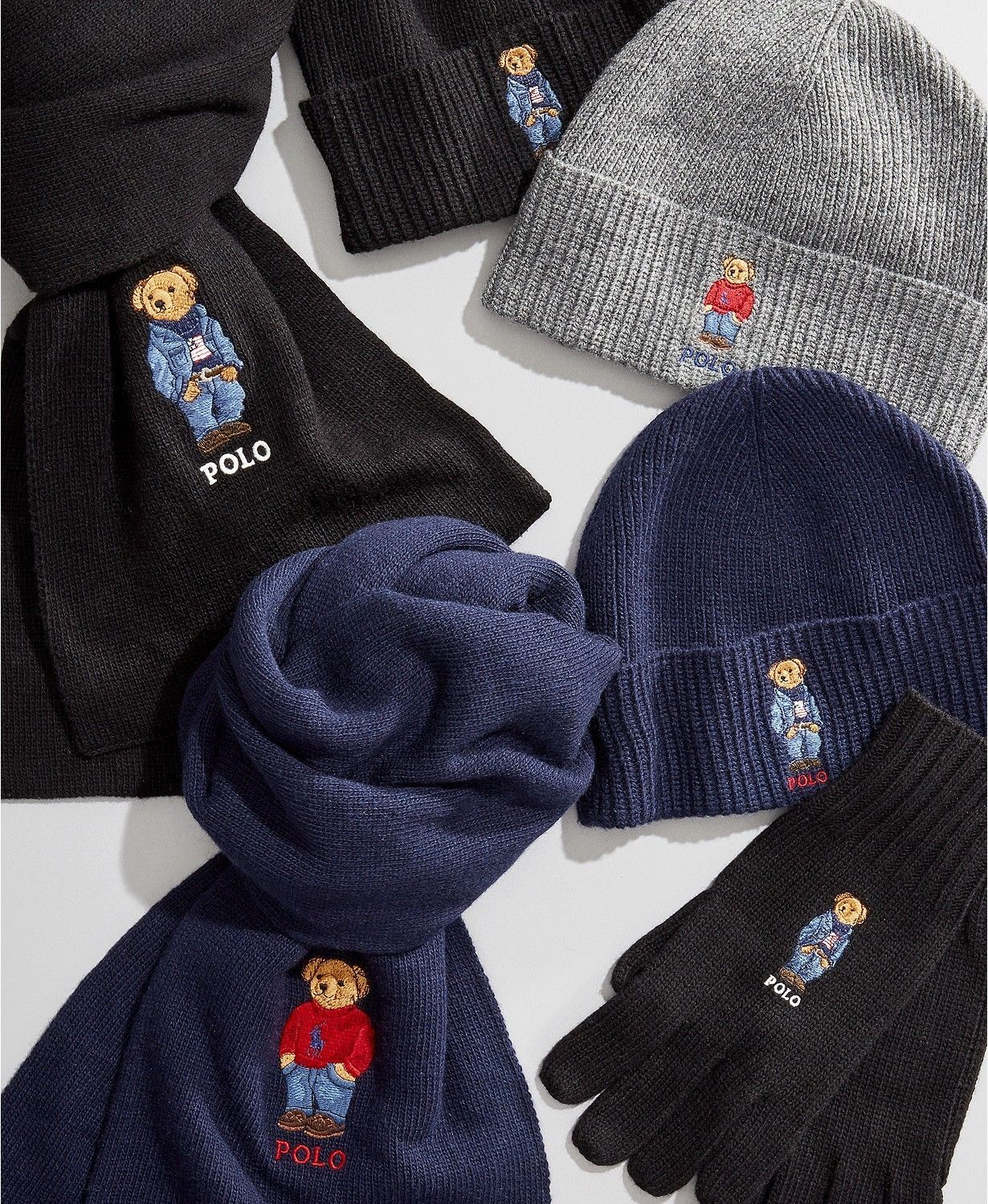 ... Brand New Polo Ralph Lauren Men s Polo Bear Cuffed Hat Collection ... 26397b743af