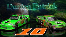 Danica Patrick #10 & #7 Go Daddy Cars  2.5 x 4.5 Fridge Magnet - $4.99