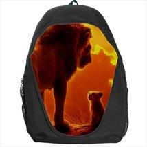 backpack mufasa simba the lion king school bag - $41.79