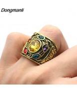 DONGMANLI Avengers Infinity Stones Gauntlet Themed Ring - Men's / Gents - $7.99
