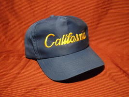 California Snap Back Adjustable Hat Dorfman Pacific Blue - $14.99