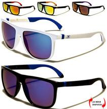 Nuovo Dxtreme Uomo Donna Rettangolare Moda Colore Specchio Occhiali Da Sole Uv - $14.17
