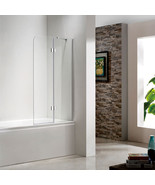 SEESUU Frameless Glass Tub Door Neo Angle Shower Enclosure Bathtub Showe... - $359.08