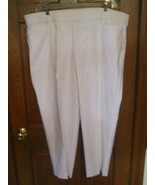 Alfred Dunner Modern Fit Proportioned Short Allure White Pant  - Size 22W - $22.76