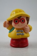 FISHER PRICE LITTLE PEOPLE Maggie with Backpack & Waving - $2.47